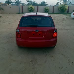 Automatic Red Kia 2007 for sale