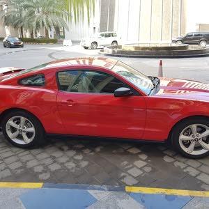 للبيع فورد موستانج موديل 2012 خليجي وكاله عمان سته سلندر جير عادي سته غيار صبغ ا