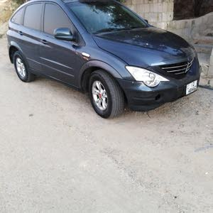 SsangYong Actyon 2009 For sale - Black color