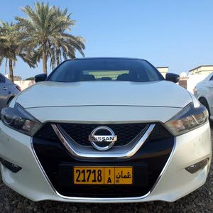 White Nissan Maxima 2017 for sale