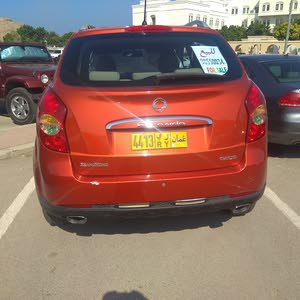 Red SsangYong Korando 2013 for sale