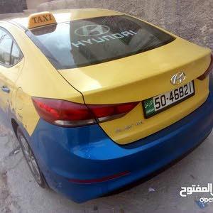 Hyundai Elantra car for sale 2017 in Zarqa city