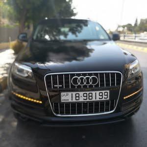 سيارة أودى لون أسود