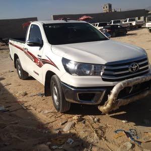 هيلوكس غماره موديل 2016 ديزل فل كامل سعودي رقم 1