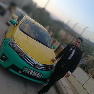 تكسي عمان طبعة النشامى السياره بحالة الوكاله