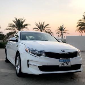 White Kia Optima 2016 for sale