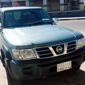 Used condition Nissan Patrol 2003 with +200,000 km mileage