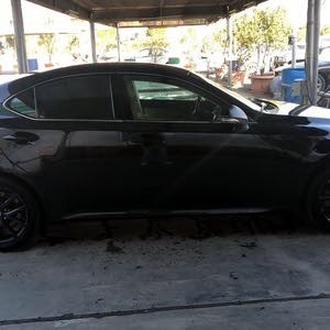 Lexus IS 2012 For sale - Black color