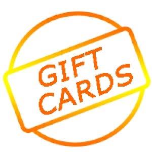 بطاقات الهدايا  Gift cards