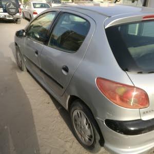 Peugeot 206 2008 For sale - Silver color