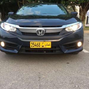 Honda Civic car for sale 2017 in Rustaq city