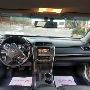 Automatic Gold Toyota 2015 for sale