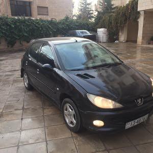 Automatic Black Peugeot 2005 for sale