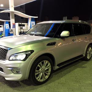 Infiniti QX56 car for sale 2012 in Muscat city