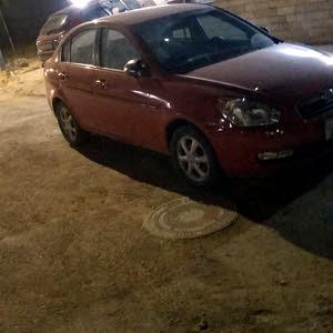 Manual Red Hyundai 2008 for sale