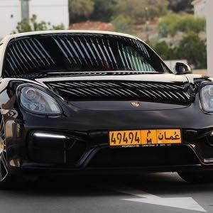 Black Porsche Cayman 2016 for sale
