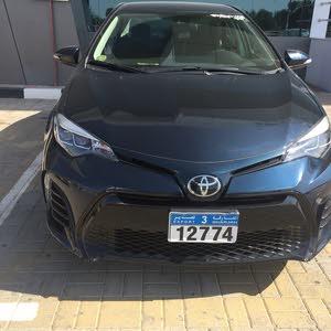 Blue Toyota Corolla 2018 for sale