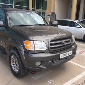 تويوتا سكويا موديل 2004السيارة خالية من العيوب ماشا 186 مايل سعر البيع 33000 الهاتف 0913782541