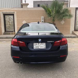 Blue BMW 520 2016 for sale