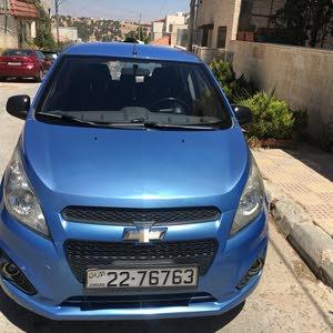 Blue Chevrolet Spark 2013 for sale