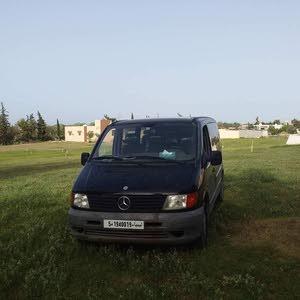 مرسيدس فيتوا للبيع ماشيه 300الف محرك وكمبيوا وصاله تبارك الرحمن 0925582297