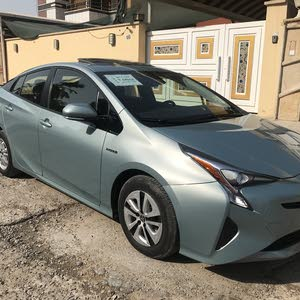New Toyota Prius in Baghdad