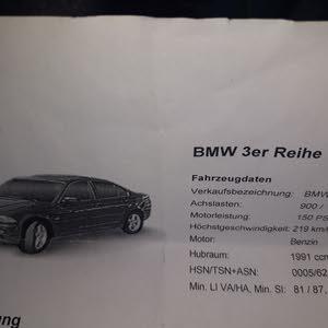 BMW 320i للبيع ثالثه