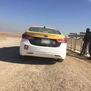 Yellow Hyundai Elantra 2013 for sale
