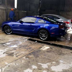 For sale 2013 Blue Mustang