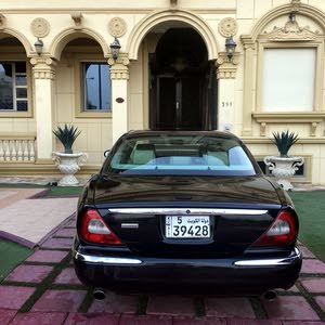Black Jaguar XJ 2007 for sale