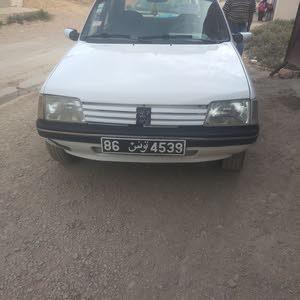 بيجو 205 جينيور بنزين سيارة نضيفة زيرو ديفو