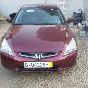 Automatic Red Honda 2006 for sale