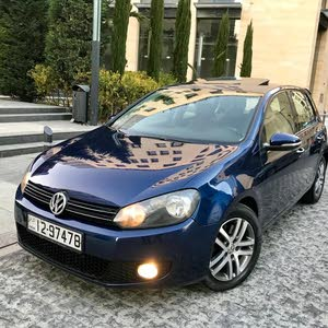 Volkswagen Golf 2011 For sale - Blue color