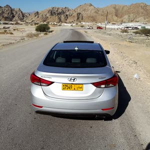 Used condition Hyundai Elantra 2014 with 1 - 9,999 km mileage
