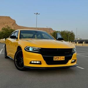 دودج تشارجر خليجيه2018  سرفس وكاله عمان ماشيه 20 الف فقط dodge charge gcc 20k km