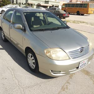 for sale Toyota Corolla 2003