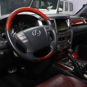 Lexus LX 2014 For sale - Beige color