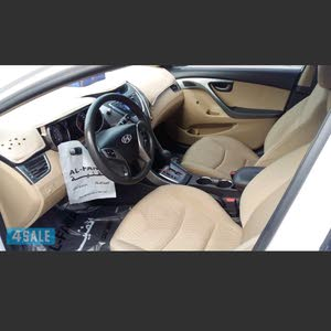 للبيع سيارة هونداي الينترا 2013 جير مكينة شاسي ممتاذة