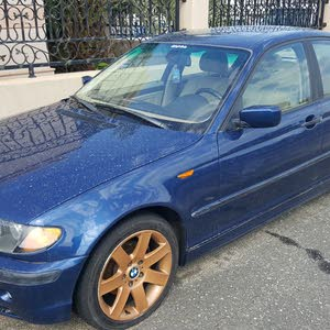 Automatic Blue BMW 2004 for sale