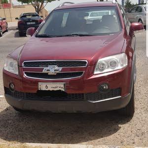 Maroon Chevrolet Captiva 2010 for sale