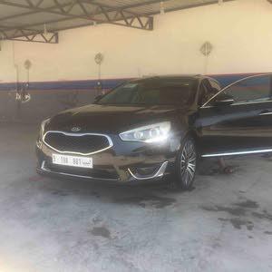 Kia Cadenza 2014 For sale - Black color