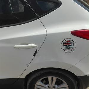 سياره توسان بانوراما موديل 2013ابيض خليجي