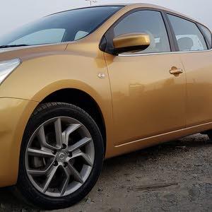 Nissan Tiida 2014 For sale - Gold color
