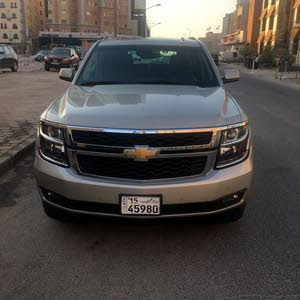 Gold Chevrolet Tahoe 2017 for sale