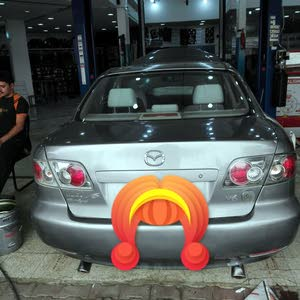 Used condition Mazda 6 2006 with +200,000 km mileage