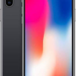Iphone X 256gb used neat and clean black