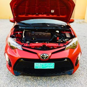 Red Toyota Corolla 2017 for sale