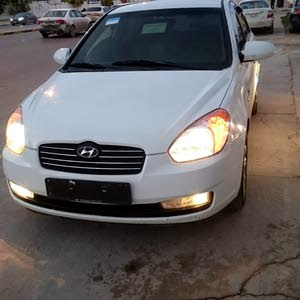 Hyundai Accent 2007 For sale - White color