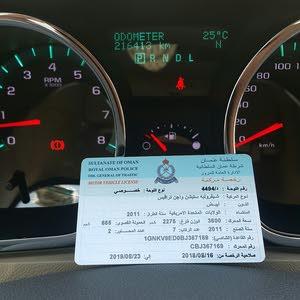 للبيع شفرليت ترافيس 2011