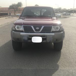 Maroon Nissan Patrol 2001 for sale